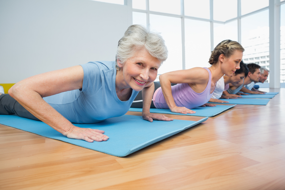 Risultati immagini per yoga terza età